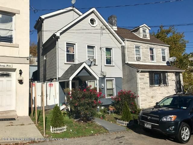 Single Family Home for Sale at 21 Tilden Street Staten Island, New York 10301 United States