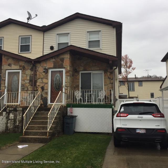 Single Family - Semi-Attached in Latourette - 91 Lewiston Street  Staten Island, NY 10314