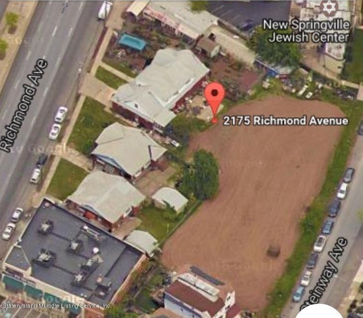 Land for Sale at 2175-2185 Richmond Avenue Staten Island, New York 10314 United States