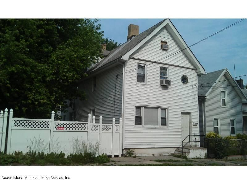 Single Family Home for Sale at 58 Caroline Street Staten Island, New York 10301 United States