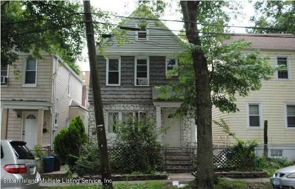 Single Family Home for Sale at 42 Hudson Street Staten Island, New York 10304 United States