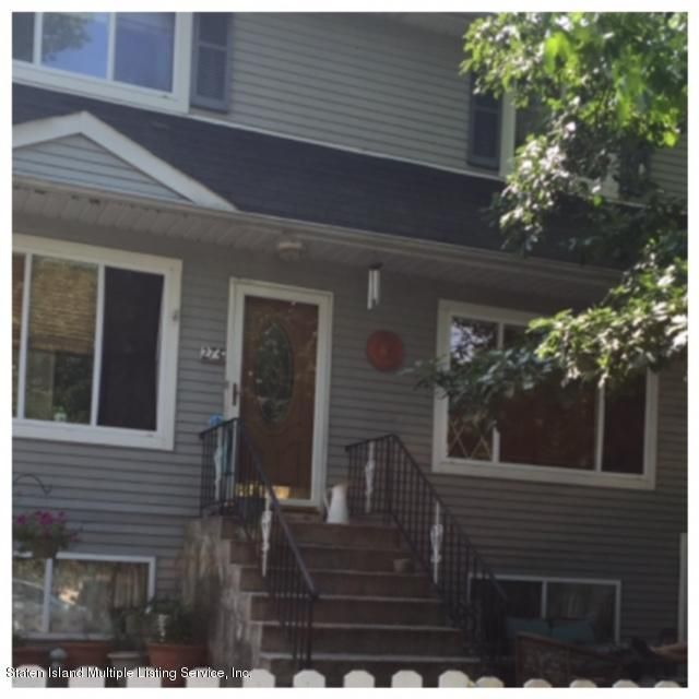 Single Family Home for Sale at 274 Sprague Avenue Staten Island, New York 10307 United States