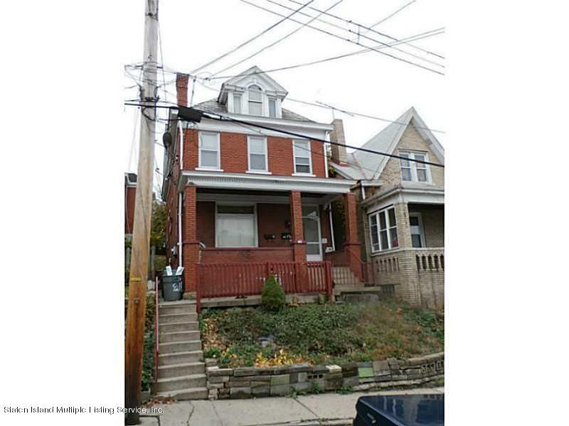 Single Family Home for Sale at 135 Koehler Street Pittsburgh, Pennsylvania 15210 United States