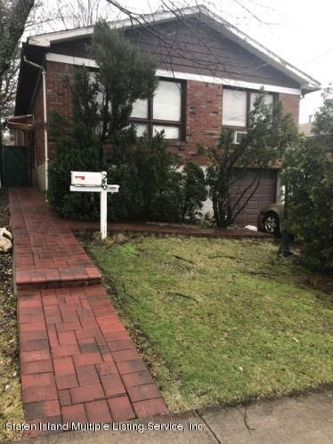 Single Family Home for Sale at 26 Bolivar Street Staten Island, New York 10314 United States