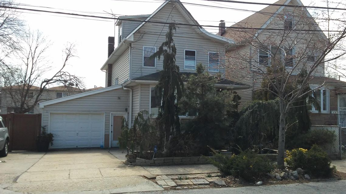 Single Family Home for Sale at 22 Continental Place Staten Island, New York 10303 United States