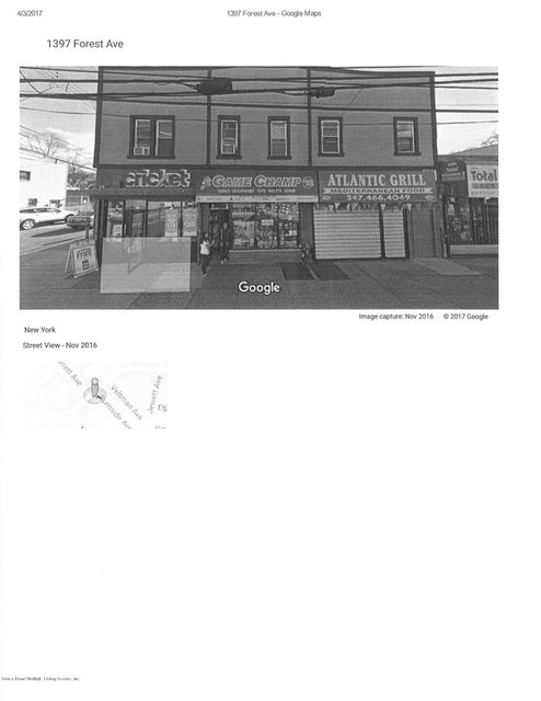 Commercial for Rent at 1400 Forest Avenue Staten Island, New York 10302 United States