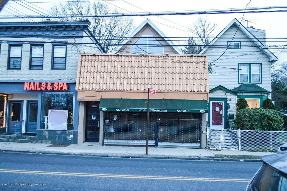 Commercial for Rent at 1112 Forest Avenue Staten Island, New York 10310 United States