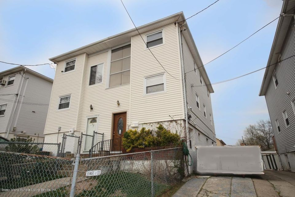 Single Family - Semi-Attached in South Beach - 65 Norway Avenue  Staten Island, NY 10305