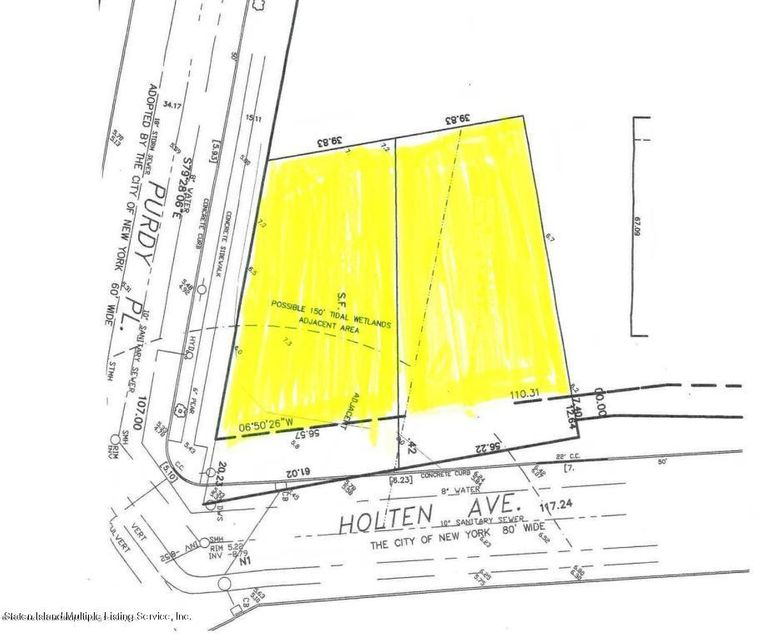 Land for Sale at 0 Holton Avenue Staten Island, New York 10309 United States