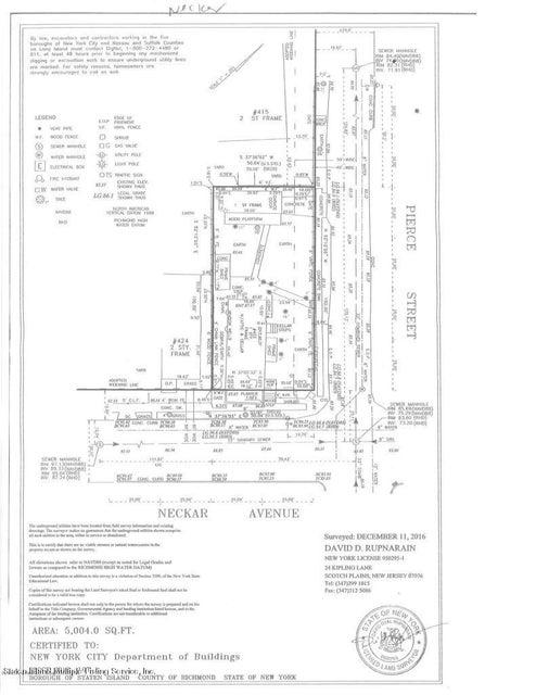 Additional photo for property listing at 422 Neckar Street  Staten Island, New York 10304 United States