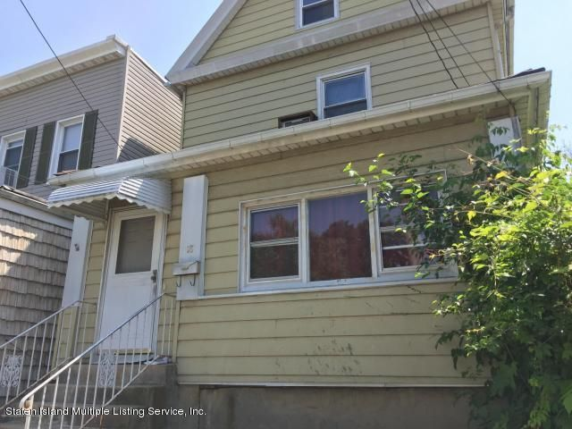 Single Family Home for Sale at 18 Irving Place Staten Island, New York 10304 United States