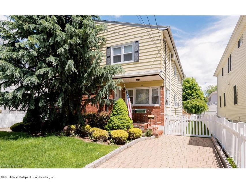 Single Family Home for Sale at 55 Jefferson Avenue Staten Island, New York 10306 United States