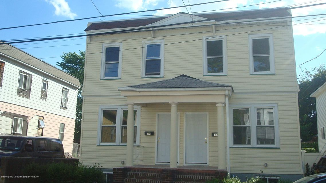 Single Family Home for Sale at 32-34 Summer Street Staten Island, New York 10305 United States