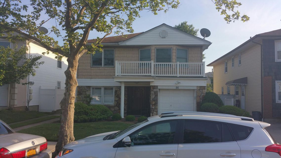 Single Family Home for Rent at 86 Copley St Staten Island, New York 10314 United States
