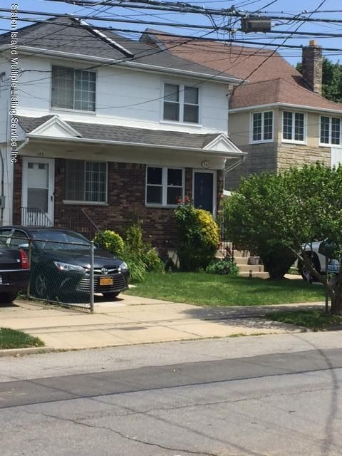 Single Family Home for Sale at 145 Bement Avenue Staten Island, New York 10310 United States