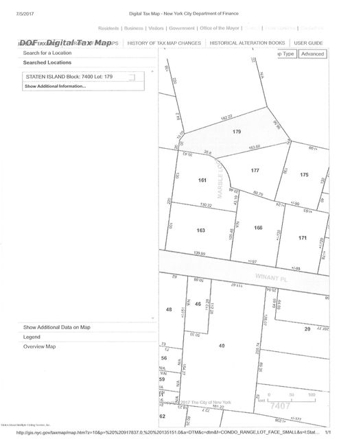 Land for Sale at 0 Marble Loop Staten Island, New York 10309 United States