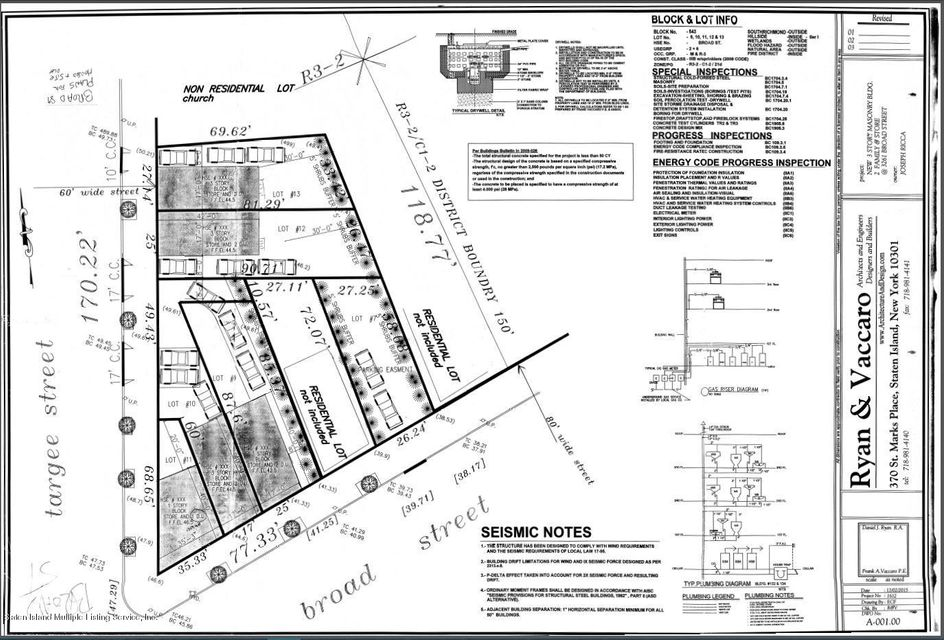 Land for Sale at 0 Broad Street Staten Island, New York 10304 United States