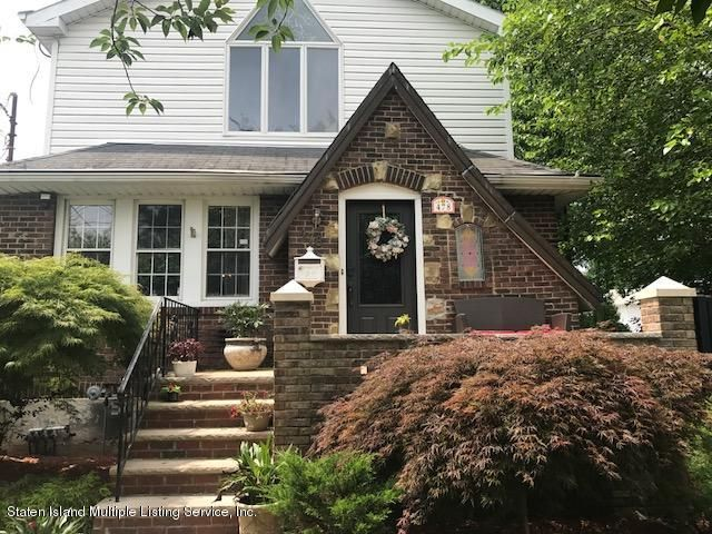 Single Family Home for Sale at 478 Jefferson Boulevard Staten Island, New York 10312 United States