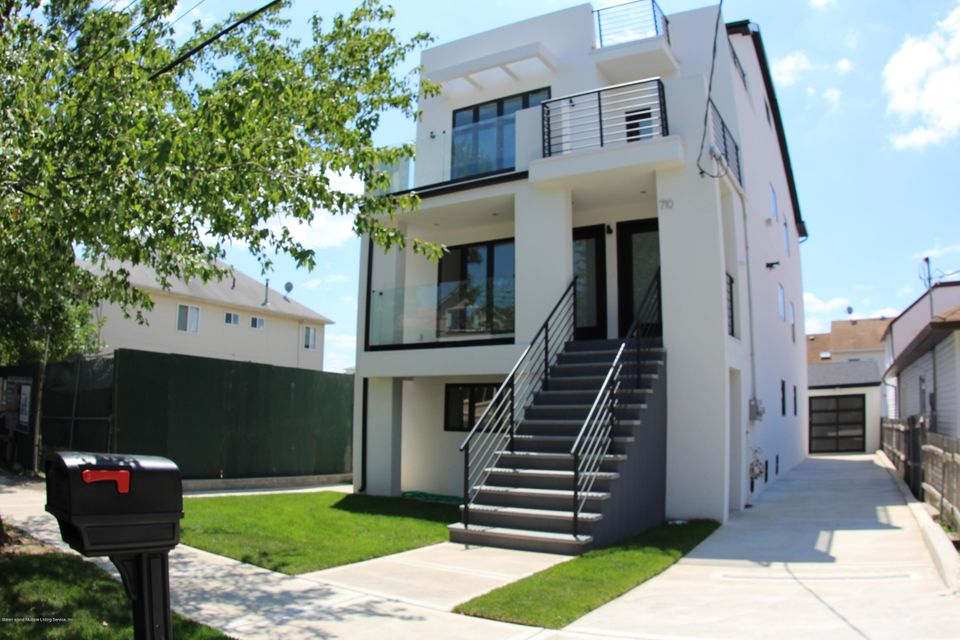 Single Family Home for Sale at 710 Rockaway Street Staten Island, New York 10307 United States