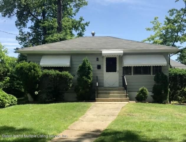 Single Family Home for Sale at 31 Bayard Street Staten Island, New York 10312 United States