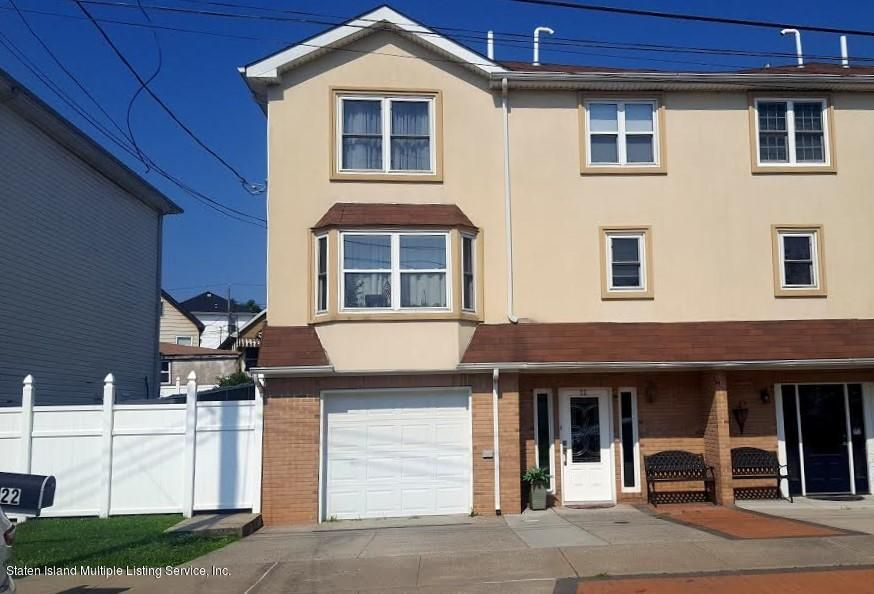 Single Family Home for Sale at 22 S. Beach Avenue Staten Island, New York 10305 United States