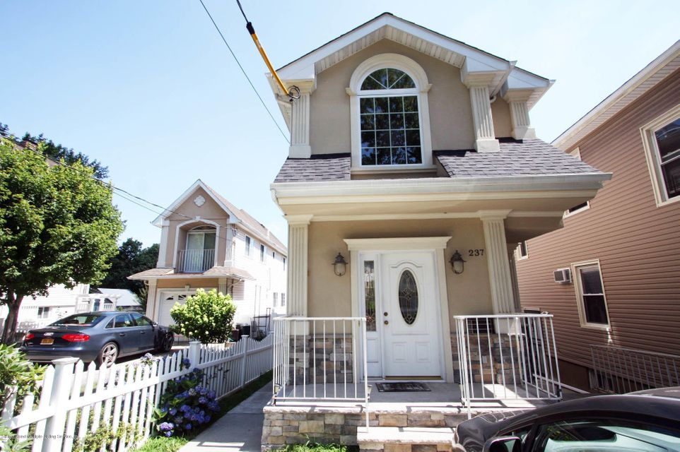 Single Family Home for Sale at 237 Castleton Avenue Staten Island, New York 10301 United States
