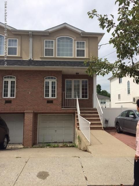 Single Family Home for Sale at 27 Benson Street Staten Island, New York 10312 United States