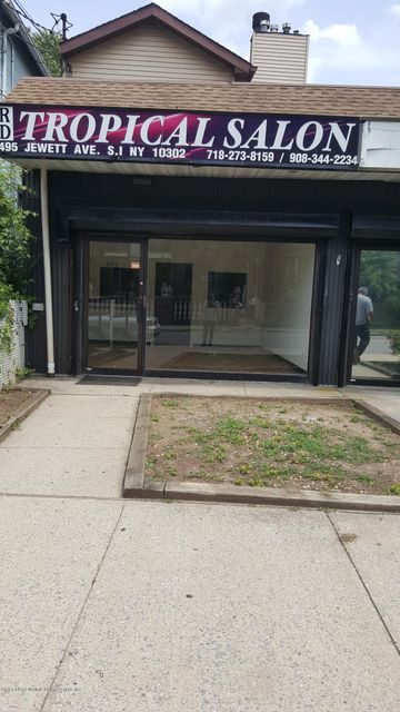 Commercial for Rent at 495 Jewett Avenue Staten Island, New York 10302 United States