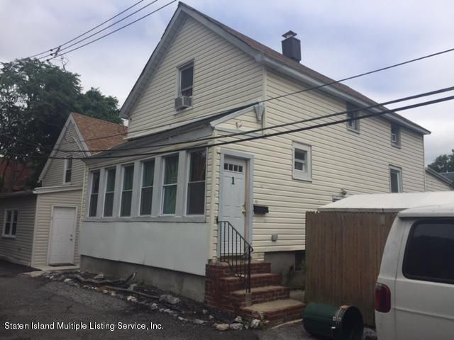 Single Family Home for Sale at 1 Wygant Place Staten Island, New York 10302 United States