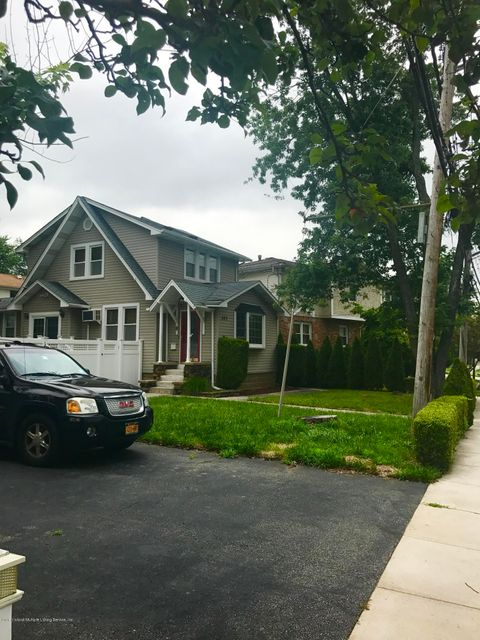 Single Family Home for Sale at 301 Wilson Avenue Staten Island, New York 10312 United States