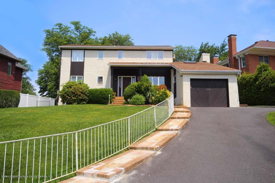 Single Family Home for Sale at 163 Coventry Road Staten Island, New York 10304 United States