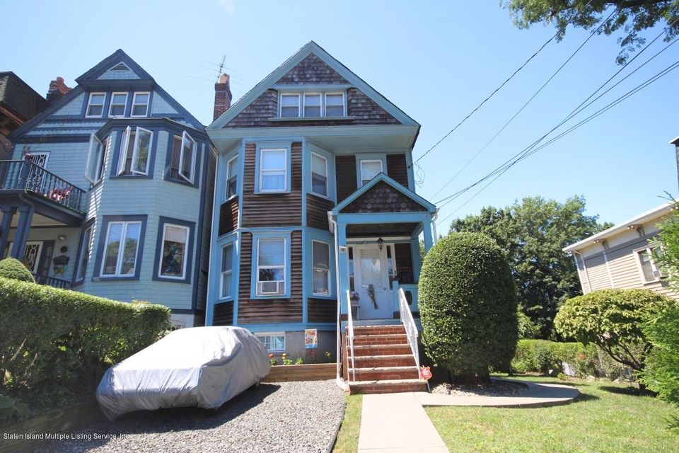 Single Family Home for Sale at 48 Westervelt Avenue Staten Island, New York 10301 United States