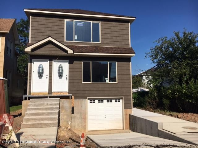 Single Family Home for Sale at 18 Housman Avenue Staten Island, New York 10303 United States