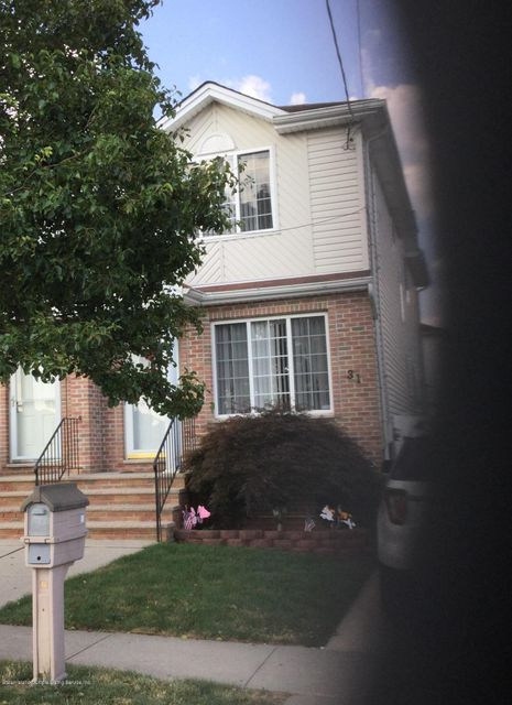 Single Family Home for Sale at 31 Beresford Avenue Staten Island, New York 10314 United States
