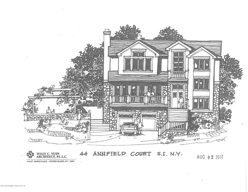 Single Family Home for Sale at 44 Annfield Court Staten Island, New York 10304 United States