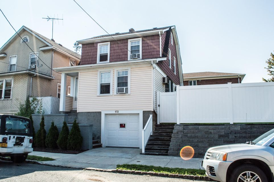 Single Family Home for Sale at 172 Van Cortlandt Avenue Staten Island, New York 10301 United States