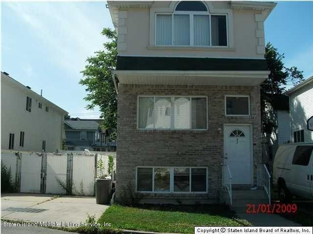 Single Family Home for Rent at 27 Mitchel Lane Staten Island, New York 10302 United States