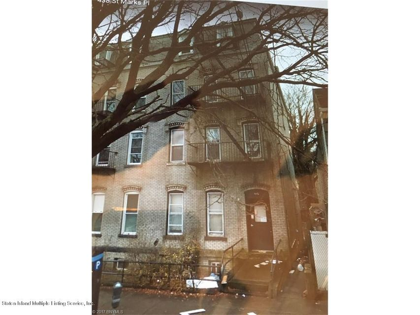 Multi-Family Home for Sale at 440 St. Marks Place Staten Island, New York 10301 United States
