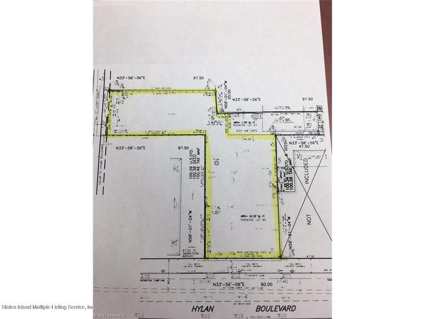 Land for Sale at 1697 Hylan Boulevard Staten Island, New York 10305 United States