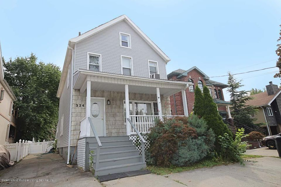 Single Family Home for Sale at 324 Clarke Avenue Staten Island, New York 10306 United States