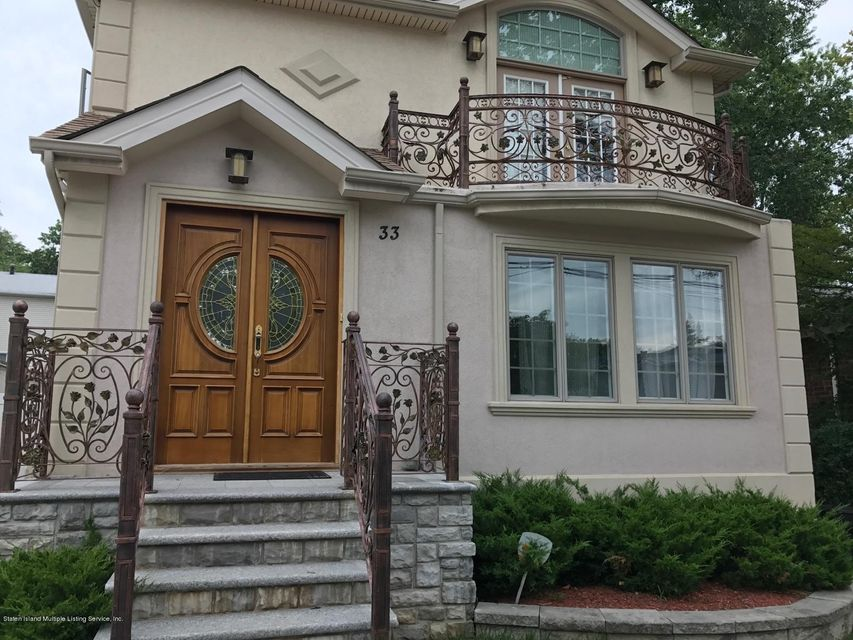 Single Family Home for Rent at 33 Osborn Avenue Staten Island, New York 10308 United States