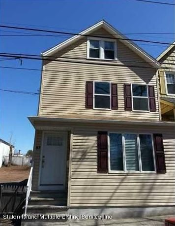 Single Family Home for Sale at 87 Tysen Street Staten Island, New York 10301 United States