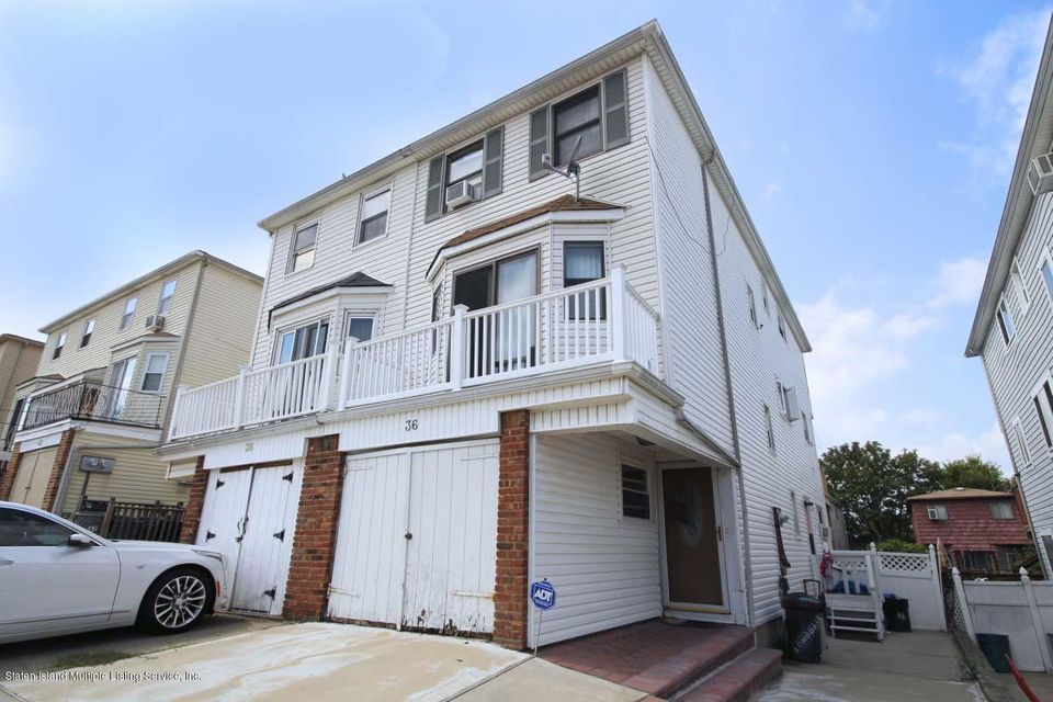 Single Family Home for Sale at 36 Longdale St Staten Island, New York 10314 United States