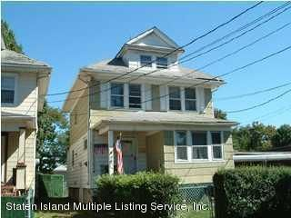 Single Family Home for Sale at 75 Catherine Street Staten Island, New York 10302 United States