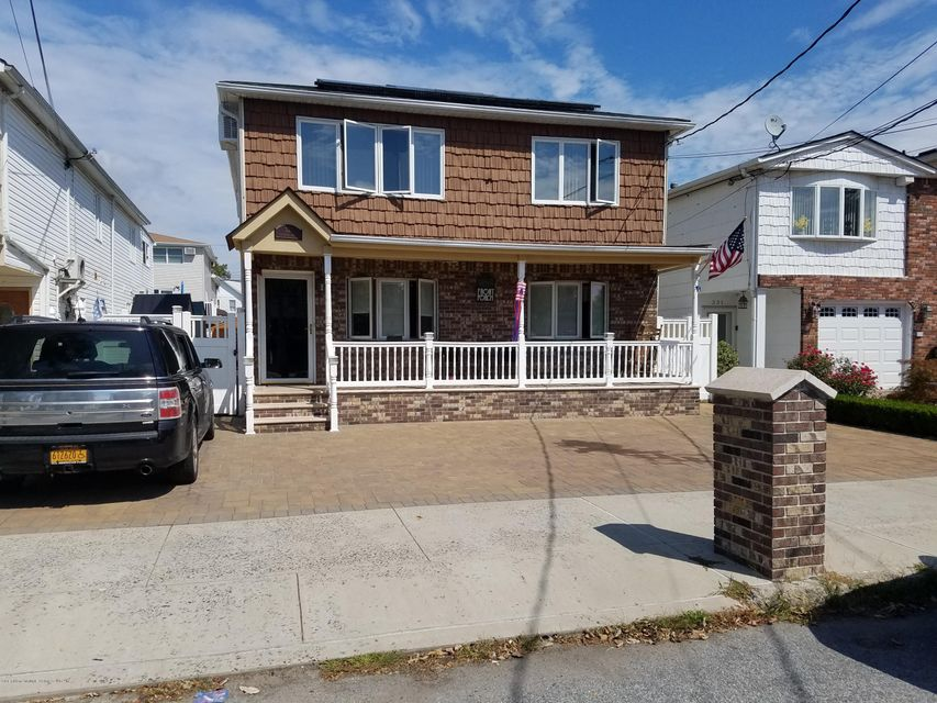 Single Family Home for Sale at 327 Naughton Avenue Staten Island, New York 10305 United States