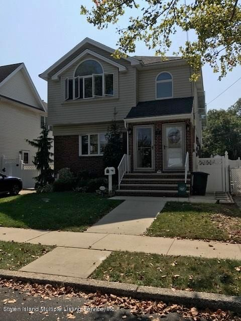 Single Family Home for Rent at 142 Peter Avenue Staten Island, 10306 United States