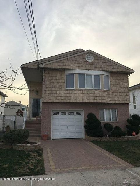 Single Family Home for Rent at 51 Firth Road Staten Island, 10314 United States