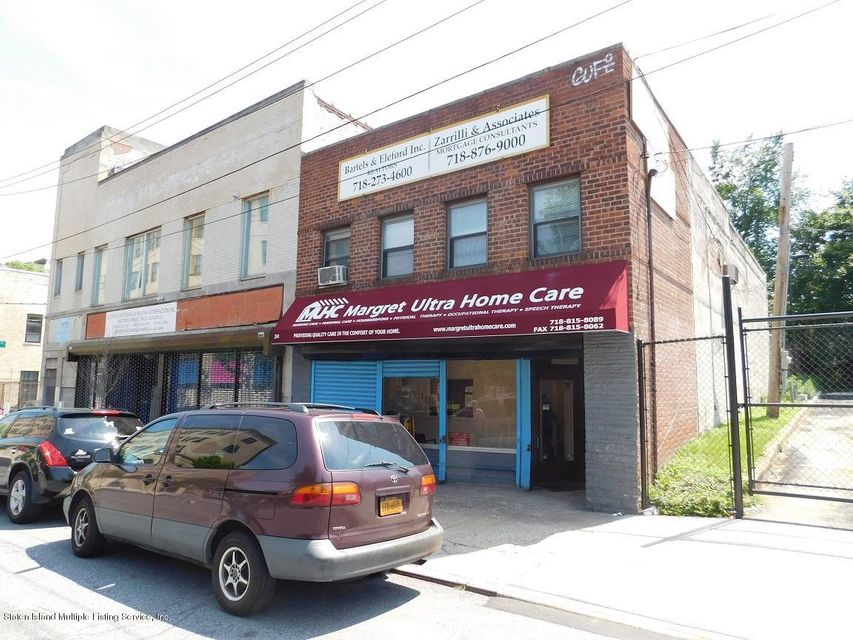 Commercial for Sale at 34 Beach Street Staten Island, New York 10304 United States