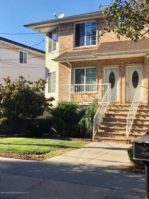 Single Family Home for Sale at 115 Barry Street Staten Island, New York 10309 United States