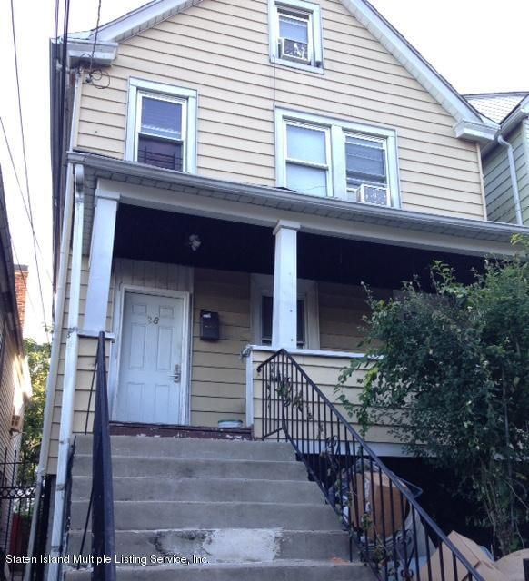 Single Family Home for Sale at 28 Prospect Avenue Staten Island, New York 10301 United States